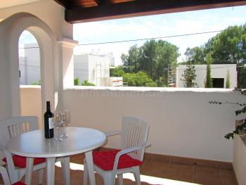 Privater Balkon - Apartment Cala Llenya