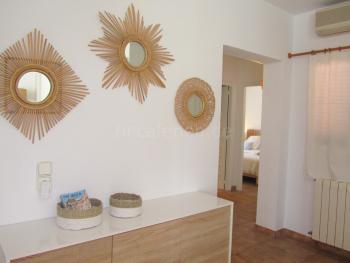 Klimaanlage im Wohnzimmer und Flur