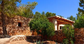 Ibiza Finca mit Klimaanlage und Internet