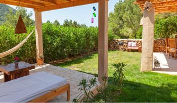 Garten, Terrasse und Chill-Out-Lounge